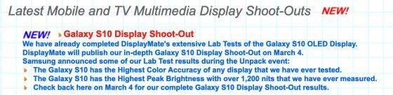 Samsung Galaxy S10 ekran AMOLED Infinity-O DisplayMate opinie cena gdzie kupić najtaniej w Polsce