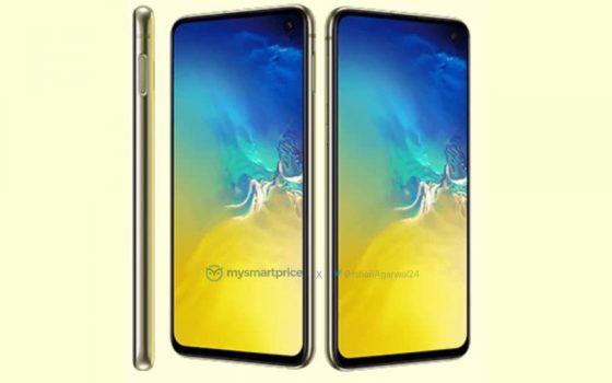 Samsung Galaxy S10e Canary Yellow rendery opinie cena kiedy premiera specyfikacja techniczna gdzie kupić najtaniej w Polsce