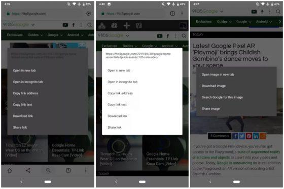 Google Chrome dark mode Android beta aplikacje tryb ciemny motyw
