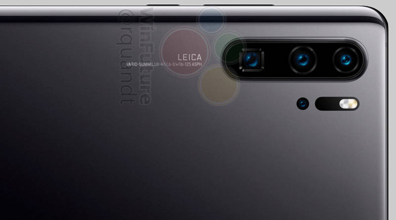 Huawei P30 Pro also in red