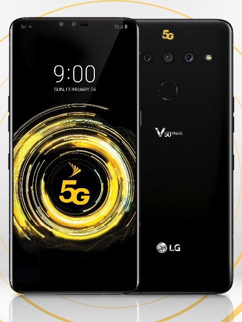 LG V50 ThinQ cena kiedy premiera opinie specyfikacja techniczna gdzie kupić najtaniej w Polsce 5G Sprint