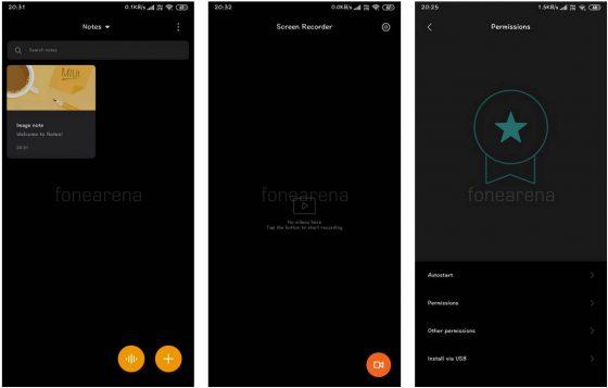 Xiaomi MIUI 10 Global Beta aplikacje dark mode tryb ciemny motyw