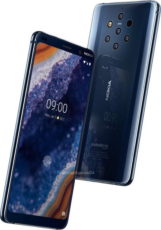 Nokia 9 Pureview rendery kiedy premiera specyfikacja techniczna opinie cena HMD GLobal MWC 2019 gdzie kupić najtaniej w Polsce