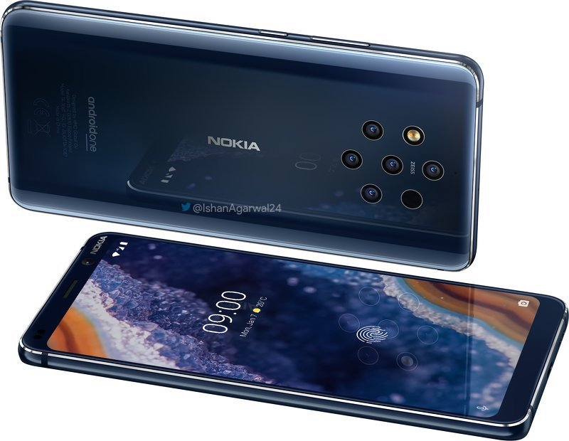 Nokia 9 Pureview rendery kiedy premiera specyfikacja techniczna opinie polska cena HMD Global MWC 2019 gdzie kupić najtaniej w Polsce problemy aparat