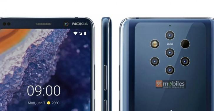 Nokia 9 PureView cena kiedy premiera specyfikacja techniczna opinie gdzie kupić najtaniej w Polsce render