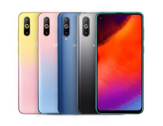 Samsung Galaxy A8s cena gradientowe kolory obudowy opinie specyfikacja techniczna gdzie kupić najtaniej w Polsce