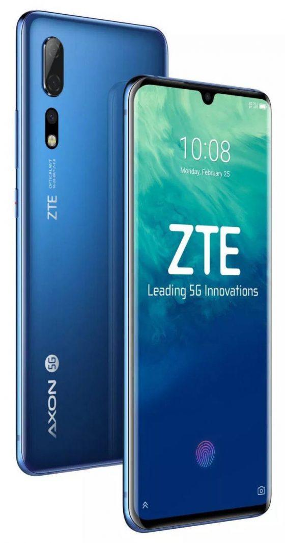 ZTE Axon 10 Pro 5G cena specyfikacja techniczna kiedy premiera opinie gdzie kupić najtaniej w Polsce MWC 2019
