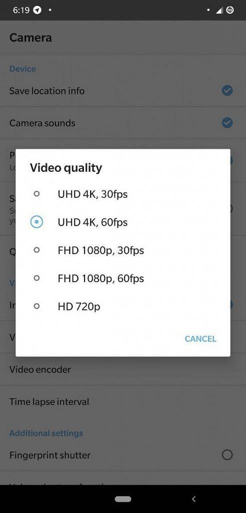Xiaomi Mi 8 Pro Pocophone F1 nagrywanie wideo 4K UHD 60 fps kiedy MIUI 10 beta