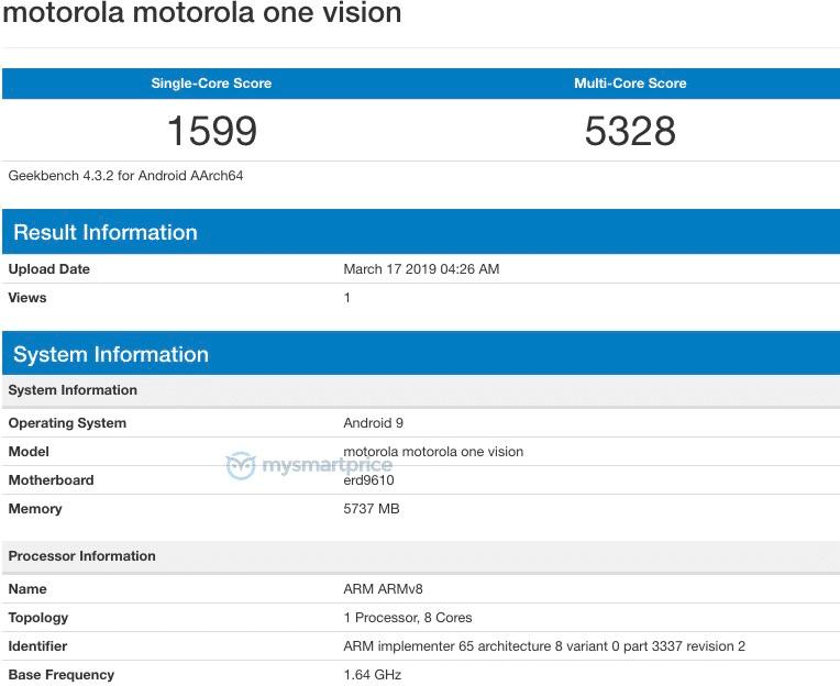 Motorola P40 One Vision cena kiedy premiera opinie specyfikacja techniczna gdzie kupić najtaniej w Polsce