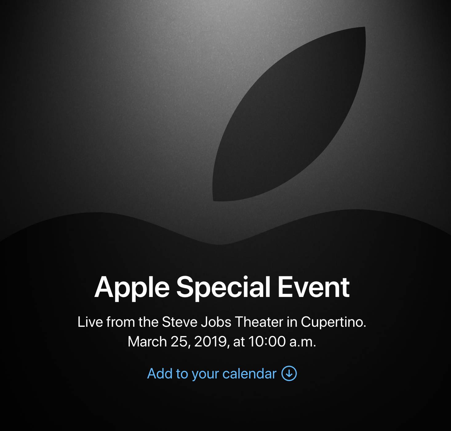 Marcowa konferencja Apple Special Event Apple TV kiedy live stream gdzie oglądać jak obejrzeć na żywo