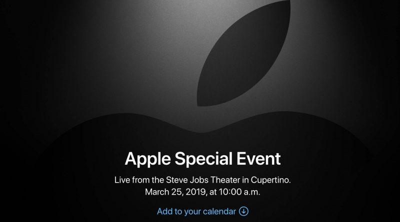 Apple Special Event marcowa konferencja Apple TV kiedy live stream gdzie oglądać na żywo