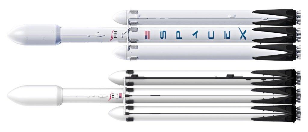 SpaceX nowy Falcon Heavy kiedy druga misja Mars Elon Musk kosmos rakieta nośna