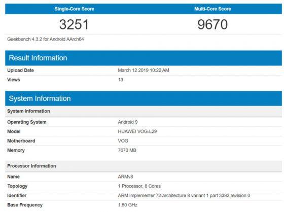 Huawei P30 Pro geekbench Galaxy S10 cena kiedy premiera opinie gdzie kupić najtaniej w Polsce specyfikacja techniczna