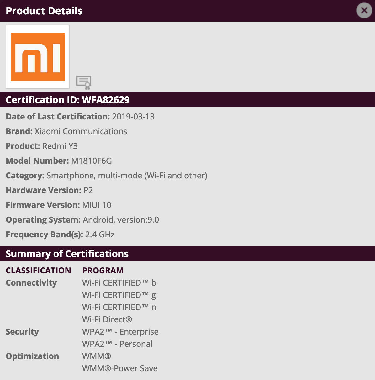 Xiaomi Redmi S3 Y3 kiedy premiera cena specyfikacja techniczna opinie gdzie kupić najtaniej w Polsce
