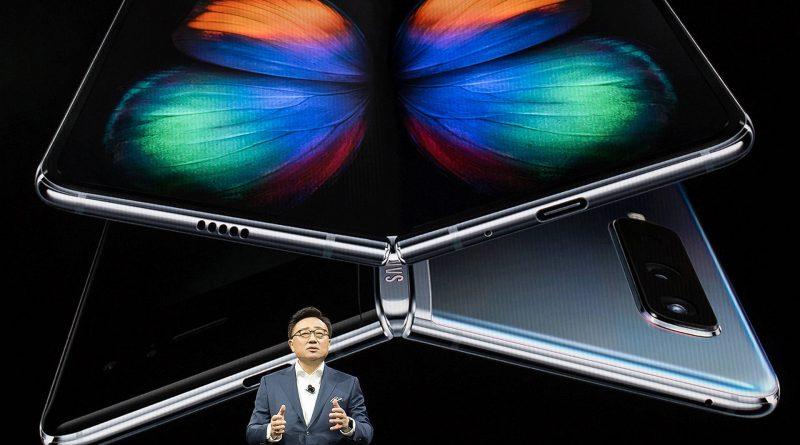 Samsung Galaxy Fold składane smartfony opinie cena gdzie kupić najtaniej w Polsce kiedy pemiera specyfikacja techniczna przedsprzedaż