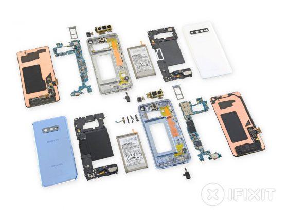 Samsung Galaxy S10e iFixit rozbiórka specyfikacja techniczna naprawa gdzie kupić najtaniej w Polsce cena opinie