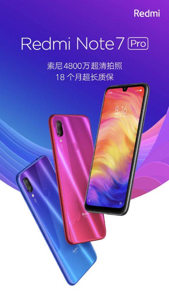 Xiaomi Redmi Note 7 Pro cena opinie gdzie kupić najtaniej w Polsce specyfikacja techniczna kiedy premiera limitowana edycja Lu Weibing