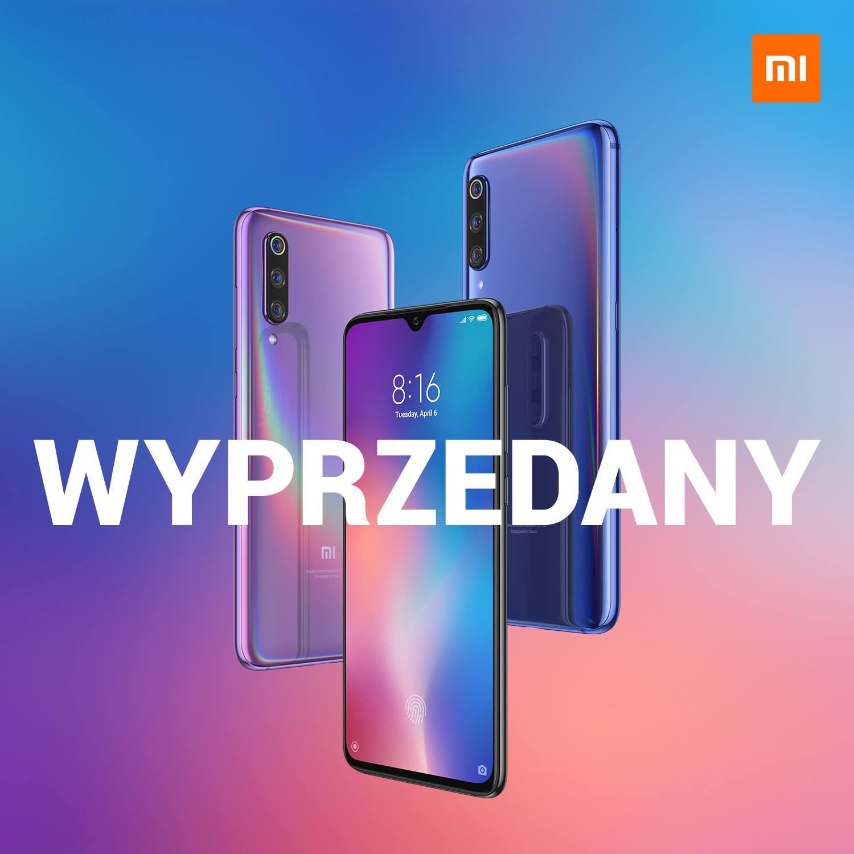 Xiaomi Mi 9 cena wyprzedany przedsprzedaż w Polsce kiedy gdzie kupić najtaniej opinie specyfikacja techniczna