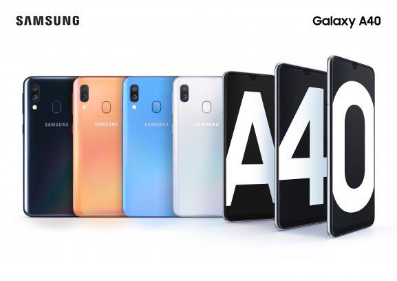 Samsung Galaxy A40 premiera cena opinie gdzie kupić najtaniej w Polsce specyfikacja techniczna