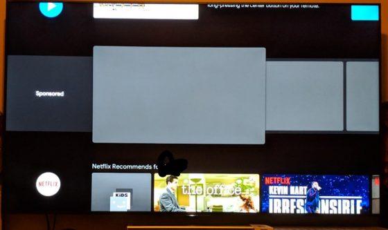 Google Android TV reklamy treści sponsorowane telewizory Smart tv