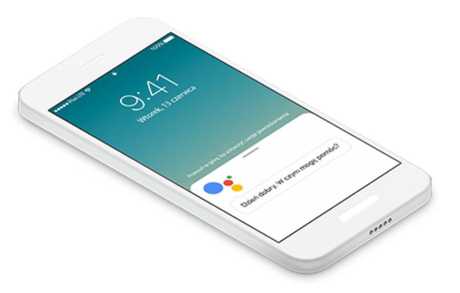Asystent Google Moje ING Bank Śląski Ok Google Android aplikacje BLIK