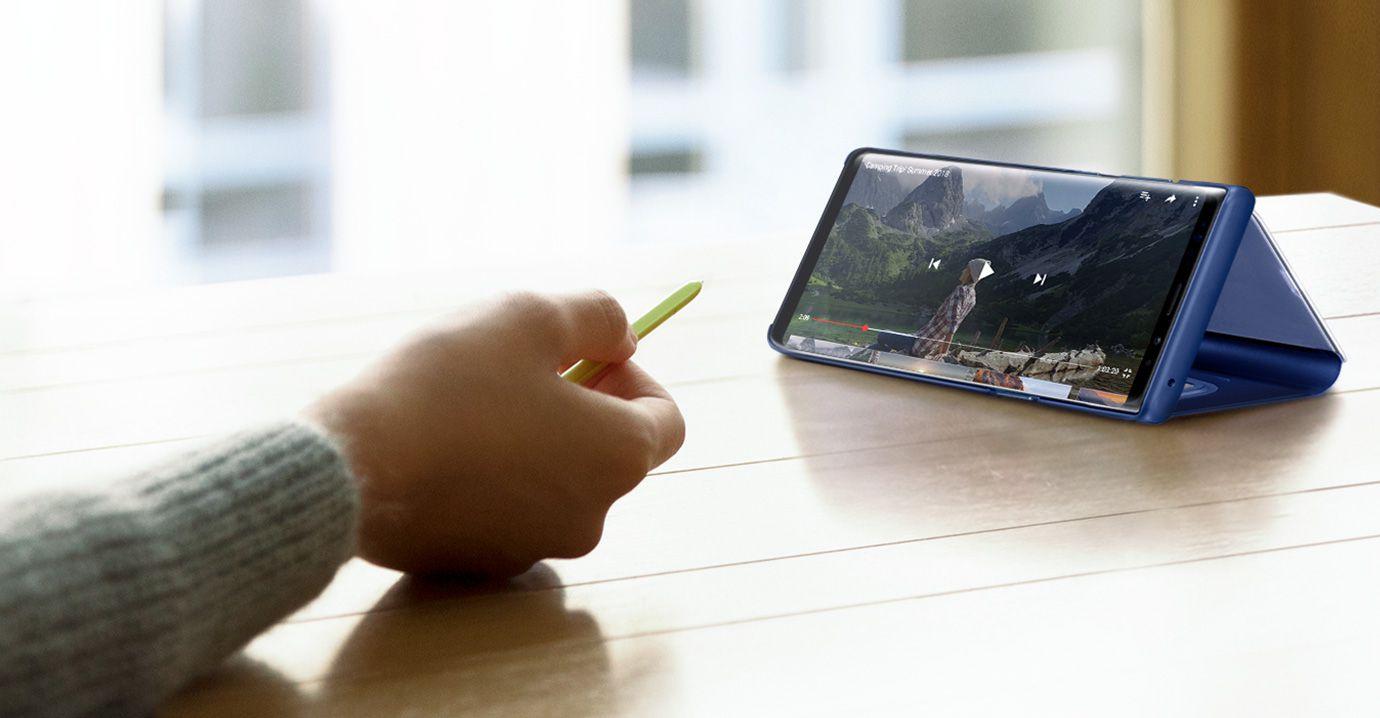 Samsung Galaxy Fold czy pozwala na pracę z S Pen z Galaxy note
