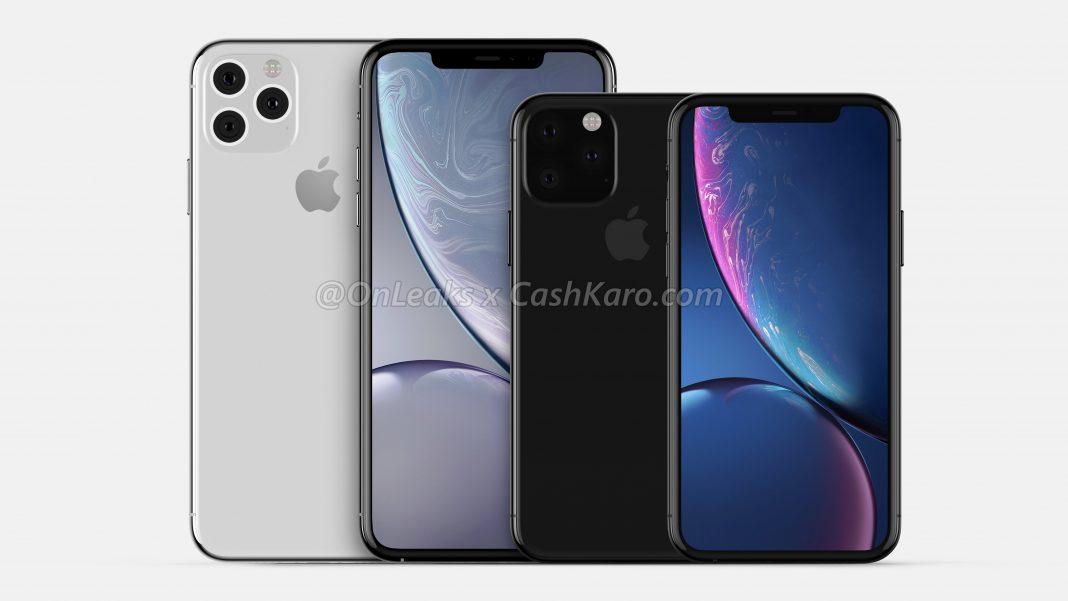 Apple iPhone 2019 Max rendery Onleaks plotki przecieki kiedy premiera iPhone Pro