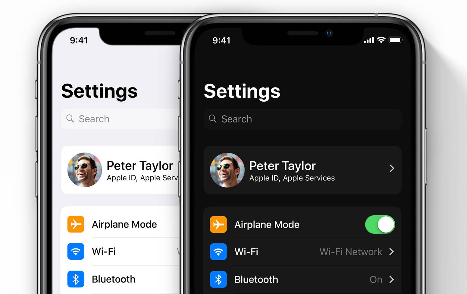 iOS 13 beta kiedy premiera Apple dark mode iPhone czarny tryb ciemny motyw WWDC 2019