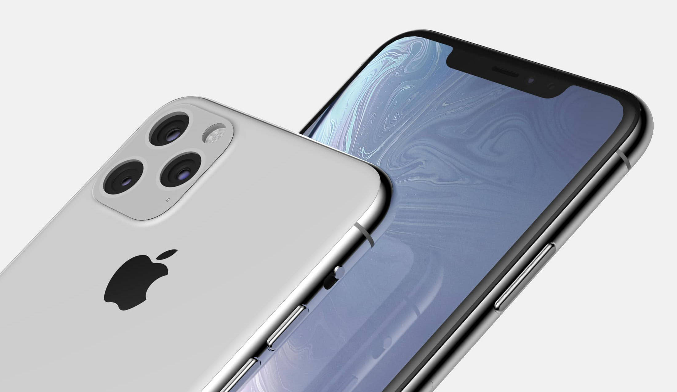 Apple iPhone 2019 Max rendery Onleaks plotki przecieki kiedy premiera miejsce na dane tryb nocny iOS 13 ToF
