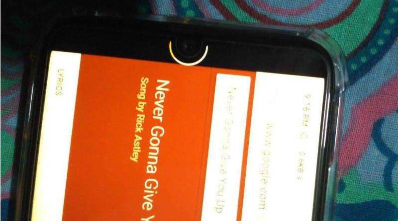 Notch Pie aplikacja dla OnepLus 6T Redmi Note 7 Xiaomi Mi 9