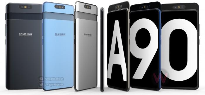 Samsung Galaxy A90 kiedy premiera specyfikacja techniczna opinie plotki przecieki gdzie kupić najtaniej w Polsce Galaxy S10