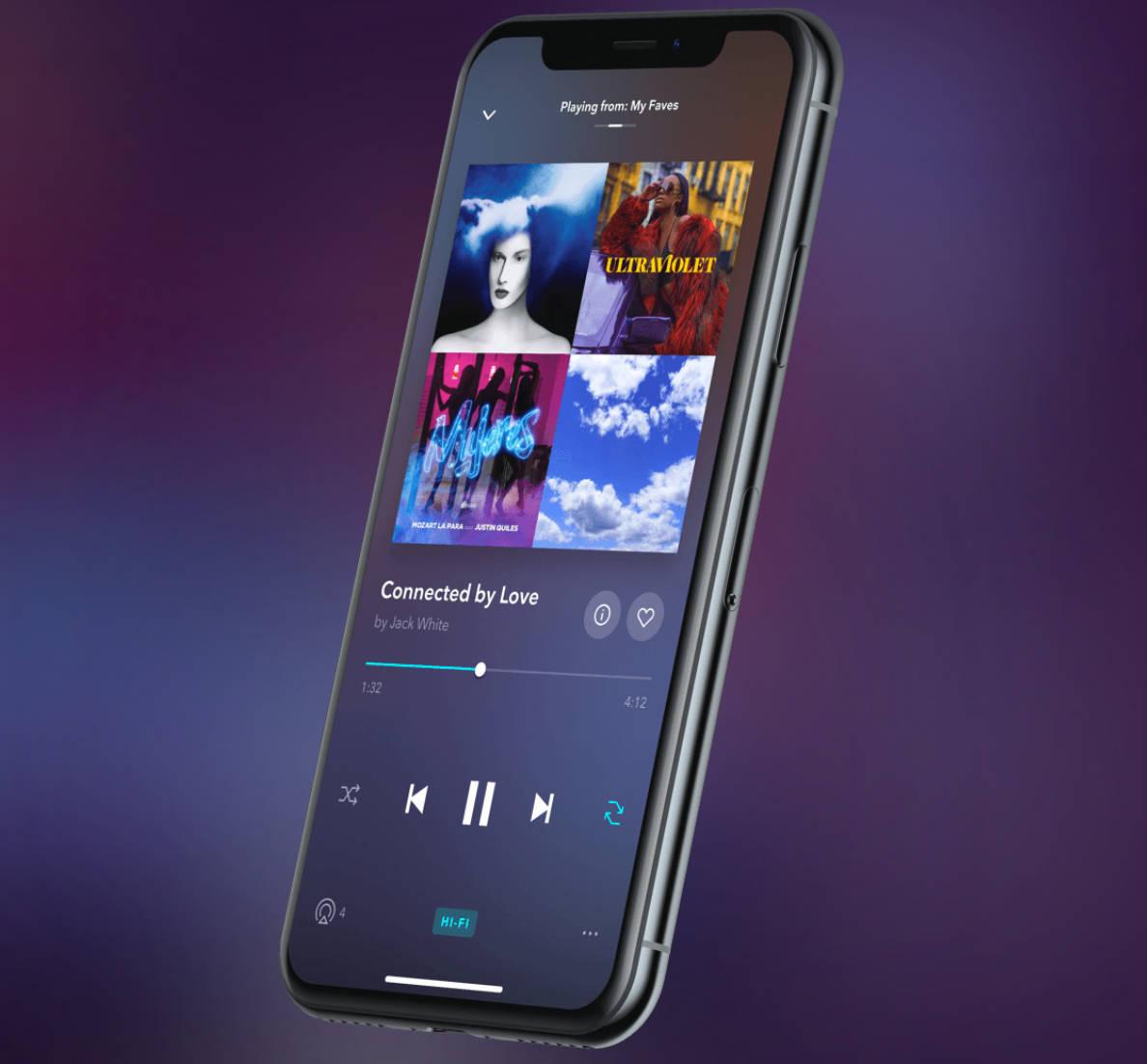 Tidal od miesiąca z obsługą Master Quality Authenticated na iPhone'ach