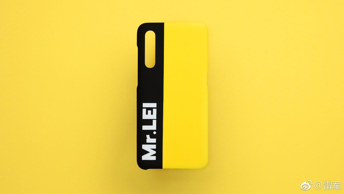 Xiaomi Mi 9 etui Lei Jun