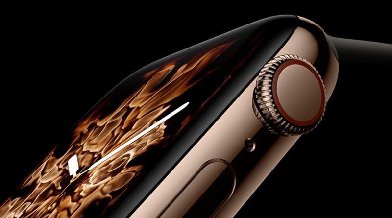 Apple Watch series 4 nagroda za najlepszy ekran roku OLED