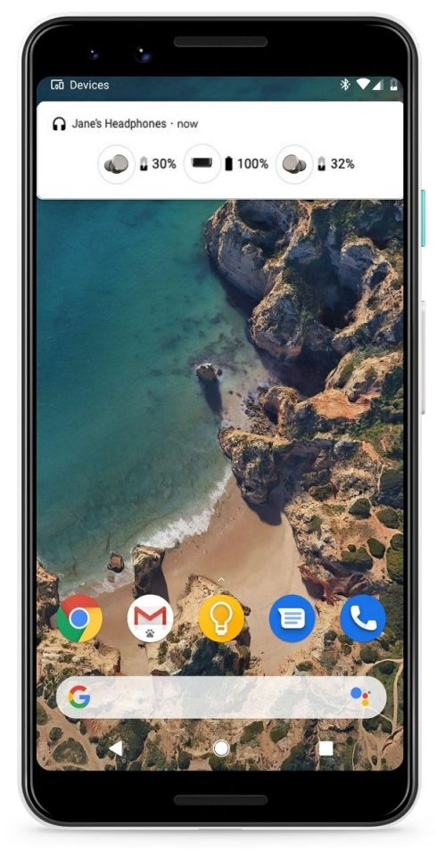 Android 10 beta 4 Q nowe menu Bluetooth