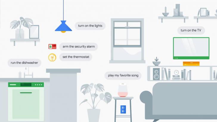Asystent Google Works with Google Assistant Nest wyłączy światło