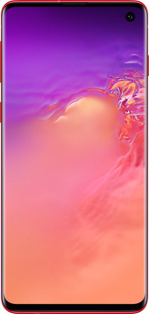 Czerwony Samsung Galaxy S10 Cardinal Red kiedy gdzie kupić najtaniej w Polsce specyfikacja techniczna opinie