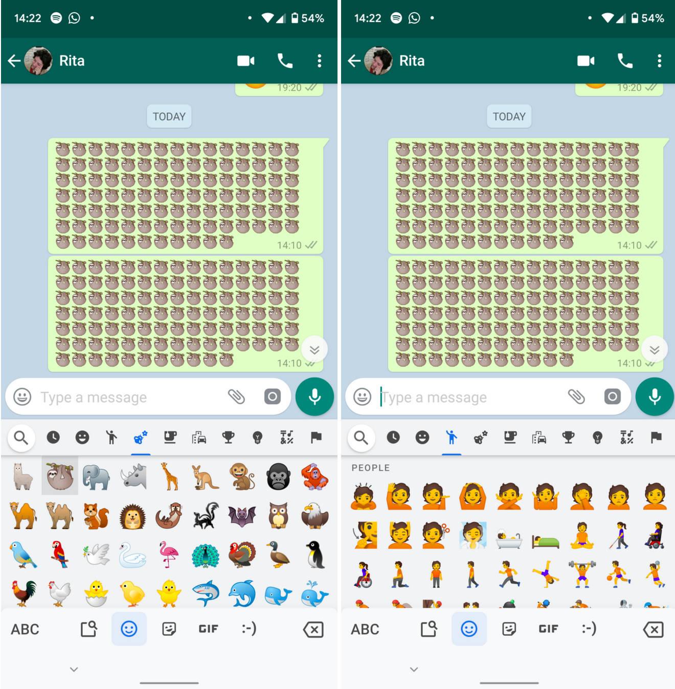 Google Gboard aktualizacja Emoji 12 Android 10