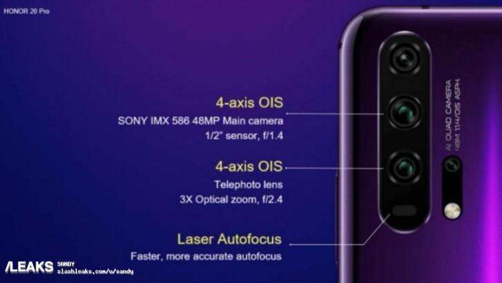 Honor 20 Pro aparat plotki przecieki specyfikacja techniczna gdzie kupić najtaniej w Polsce kiedy premiera Huawei P30 Pro