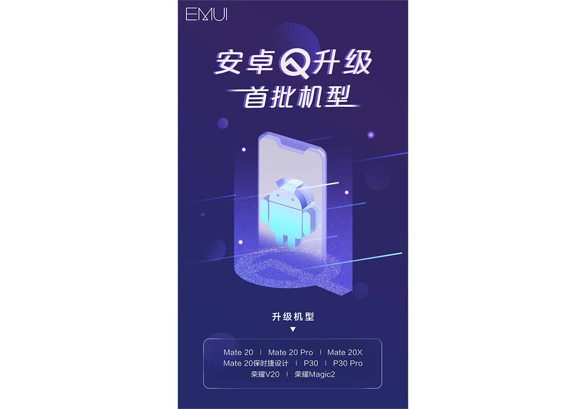 Huawei P30 Pro Mate 20 Pro Honor View 20 Magic 2 Android 10 EMUI 10 kiedy aktualizacja