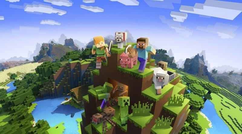 Minecraft promocja gry PC z Windows 10 PlayStation 4 Xbox One Nintendo Switch obniżka ceny