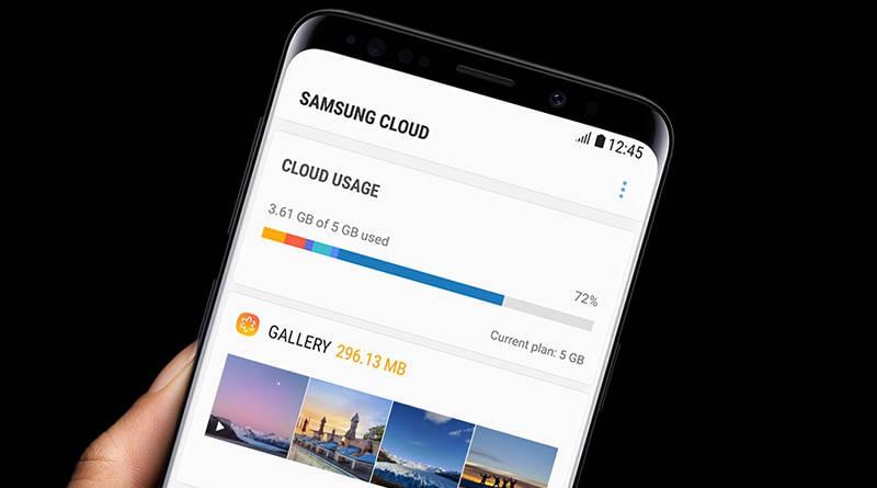 Samsung Cloud dysk internetowy miejsce na pliki za darmo