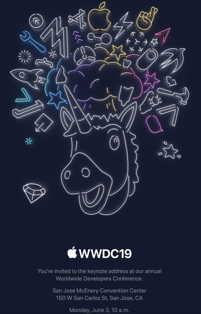 Keynote WWDC 2019 konferencja Apple live stream na żywo iOS 13 macOS 10.15