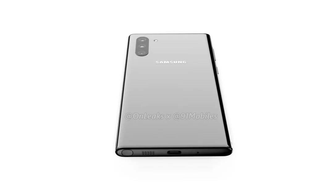 Samsung Galaxy Note 10 rendery Onleaks kiedy premiera specyfikacja techniczna plotki przecieki wycieki