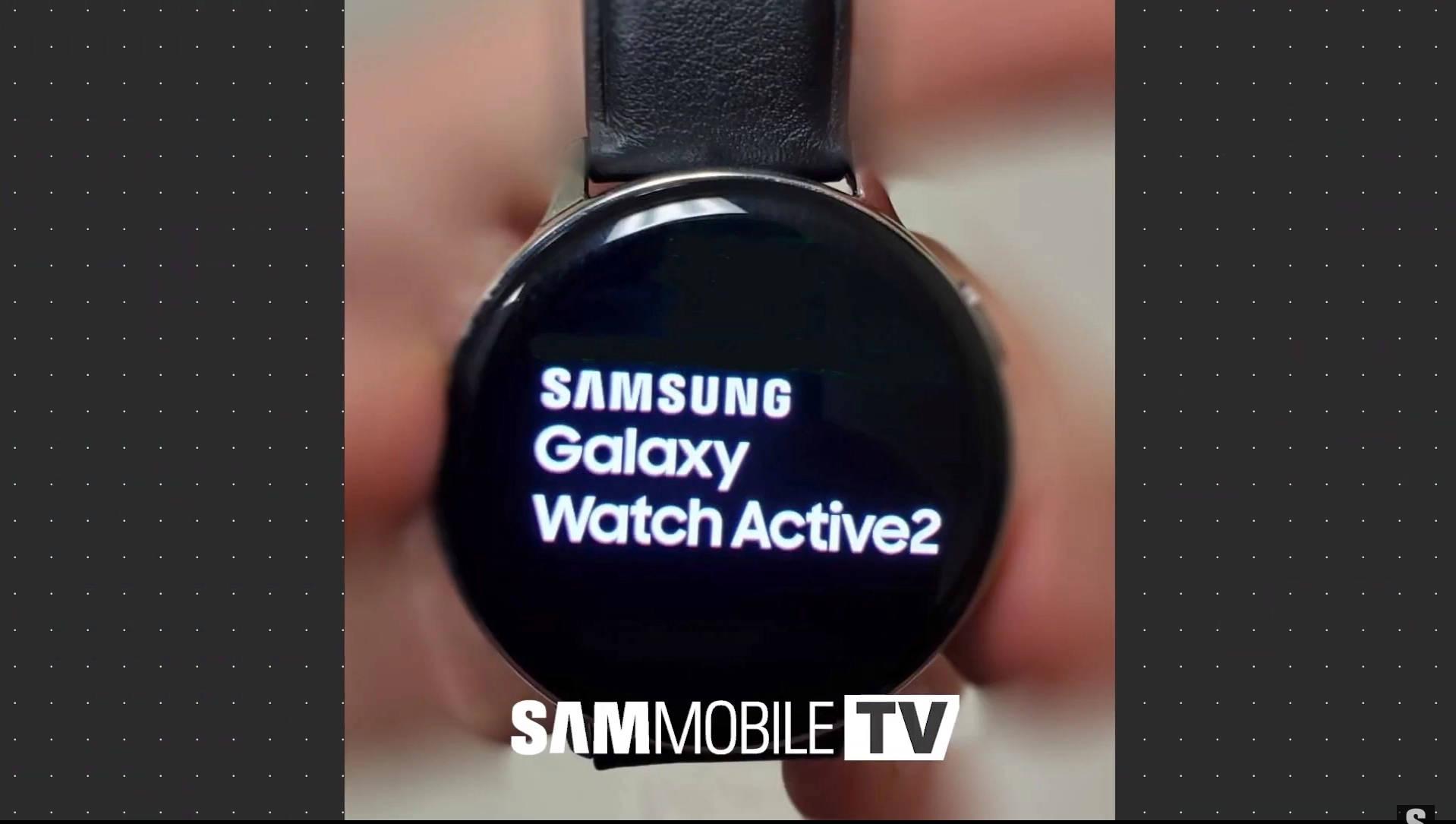 Samsung Galaxy Watch Active 2 zdjęcia kiedy premiera plotki przecieki wycieki specyfikacja techniczna Apple Watch 4 EKH wykrywanie upadków