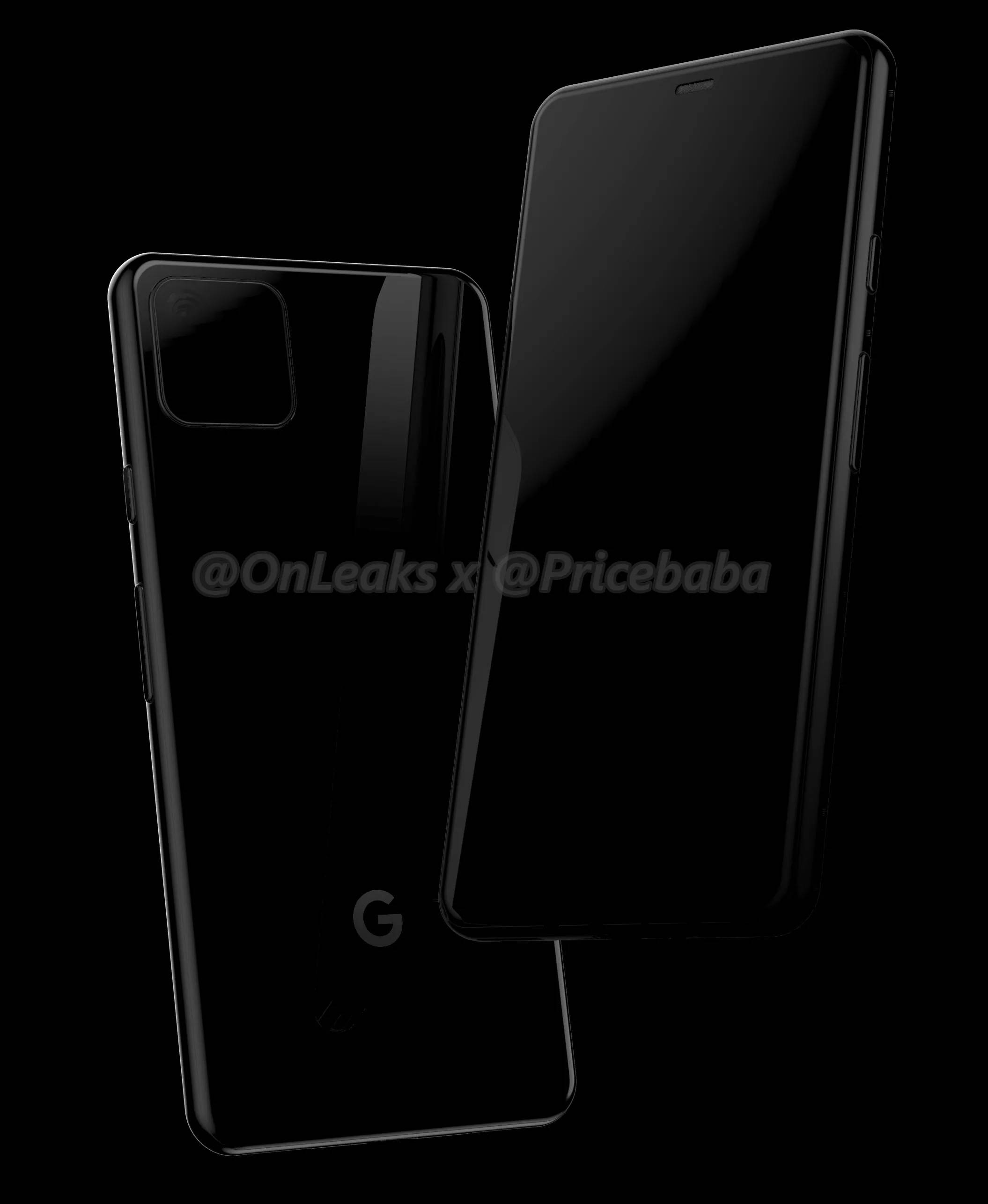 Google Pixel 4 rendery onleaks kiedy premiera iPhone 2019 plotki przecieki wycieki