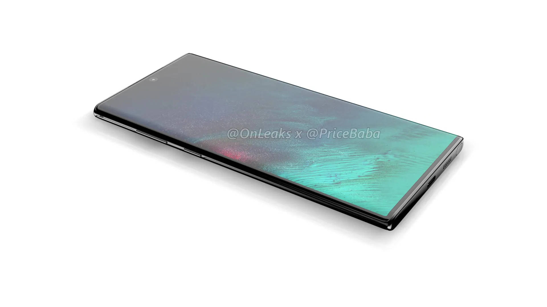 Samsung Galaxy Note 10 Pro rendery Onleaks przecieki wycieki plotki kiedy premiera specyfikacja techniczna