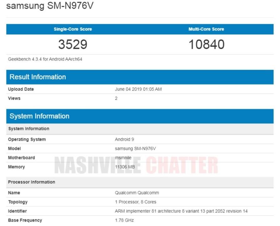 Samsung Galaxy Note 10 5G Exynos 9825 przecieki plotki wycieki kiedy premiera specyfikacja techniczna
