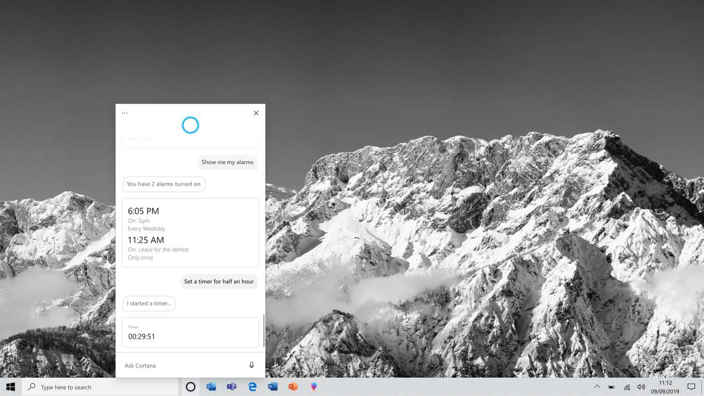 Cortana beta z Windows 10 Microsoft Store aplikacja