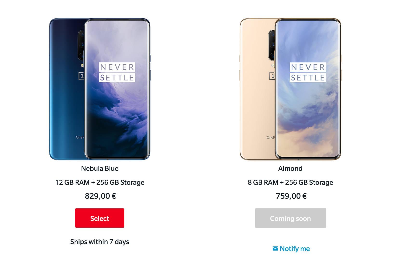 złoty OnePlus 7 Pro Almond cena kiedy premiera opinie gdzie kupić najtaniej w Polsce